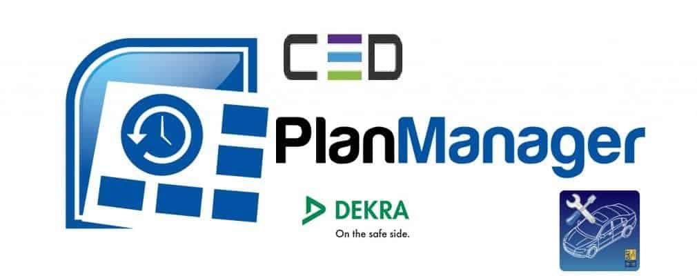 koppeling planmanager CED Dekra autoschadesoftware